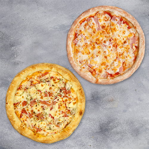 Комбо «2 пиццы мясная и с ветчиной» из группы ЭКОНОМиЯ