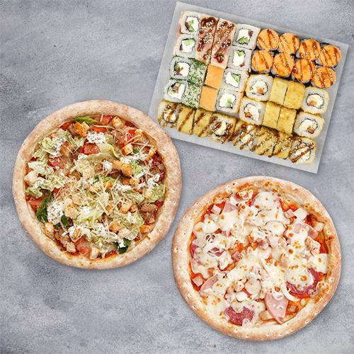 Комбо «1кг роллов и 2 пиццы» из группы Вкуснее
