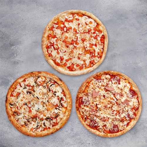 Комбо «3 большие пиццы» из группы Вкуснее