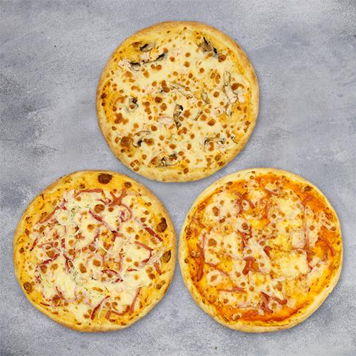 Комбо «3 пиццы за 333» из группы ЭКОНОМиЯ
