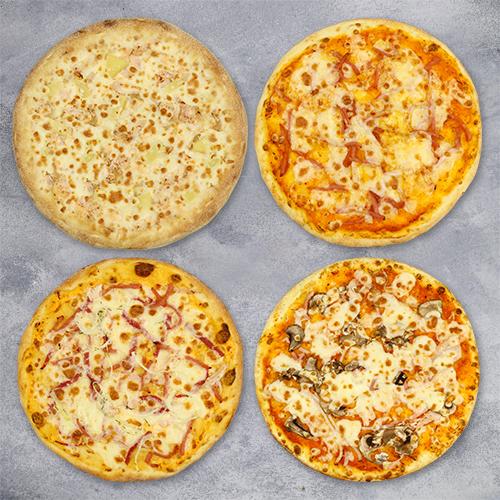 Комбо «4 пиццы за 444» из группы ЭКОНОМиЯ
