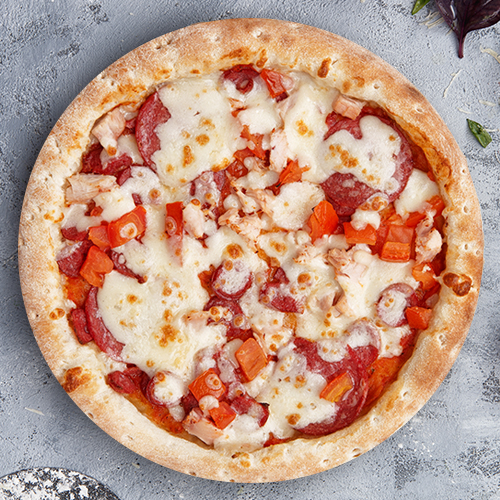 Пицца Ассорти из группы «Вкуснее»