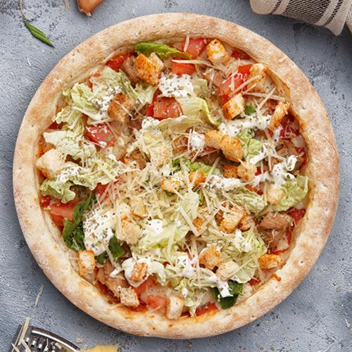 Пицца Цезарь из группы «Вкуснее»