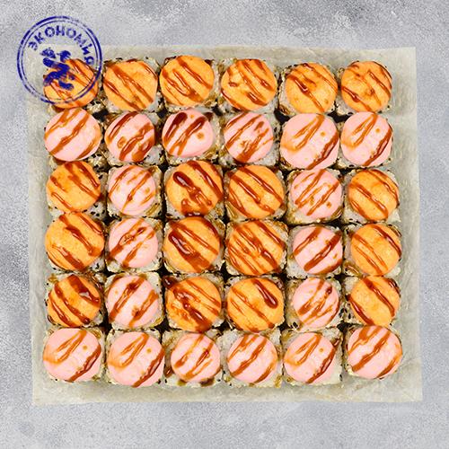 Набор запеченных роллов Эконом 10 (6 порций роллов)