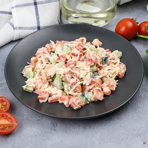 Японский салат Кани Сарада