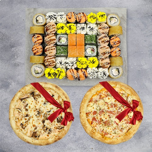 Хорошее настроение + 2 пиццы из группы эконом в подарок