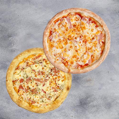 Комбо 2 пиццы (пиццы на традиционном тесте из группы «Экономия»)