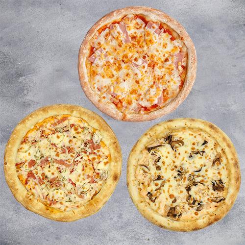 Комбо 3 пиццы (пиццы на традиционном тесте из группы «Экономия»)