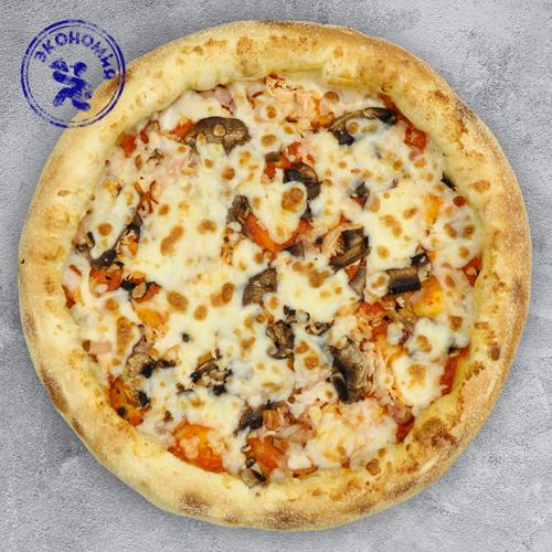 Пицца с курицей, беконом и грибами из группы Экономия на традиционном тесте