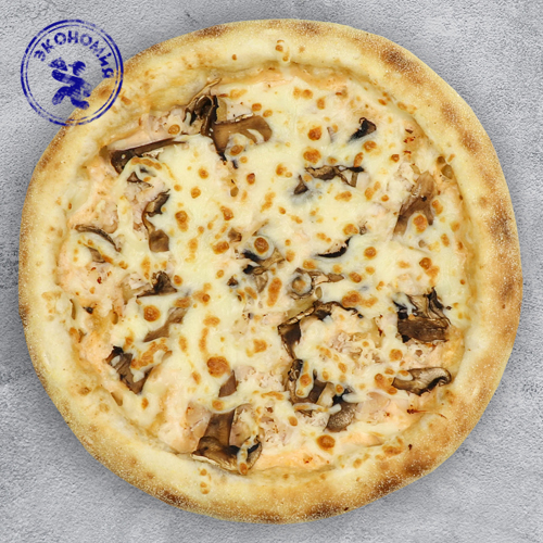 Пицца с курицей и грибами из группы Экономия на традиционном тесте