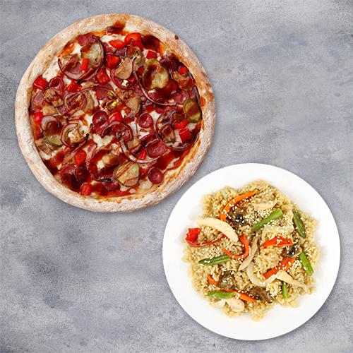 Комбо «Пицца+вок»
