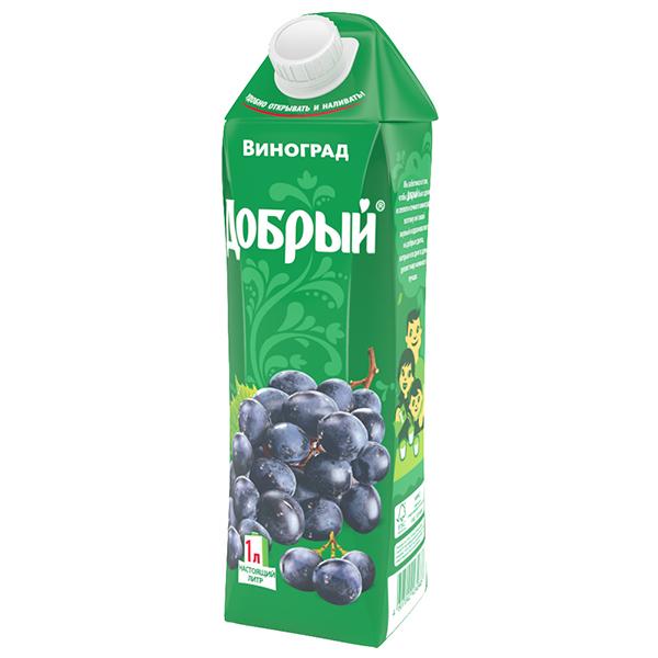 Сок Добрый Виноград 1 л.