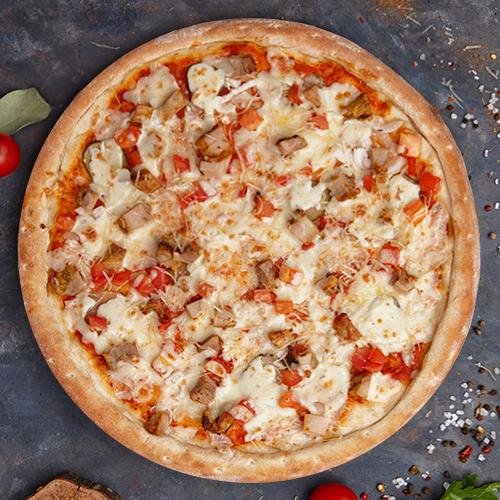 Пицца с шашлыком