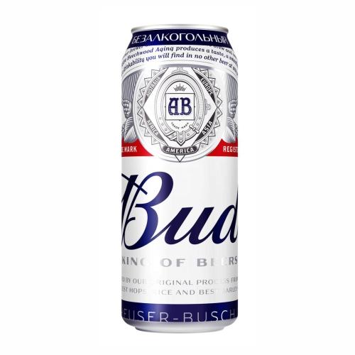 BUD 0,45 л  безалкогольное