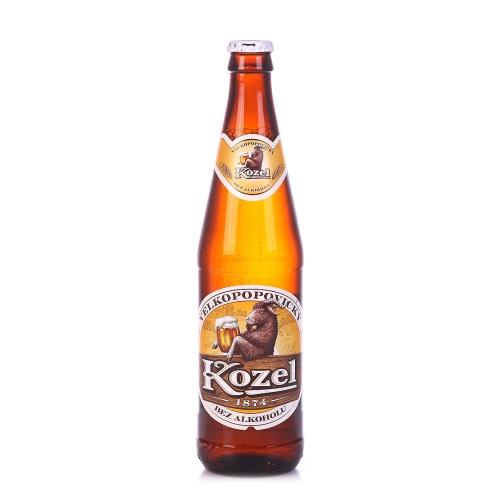 Kozel 0,5 л  безалкогольное  стекло